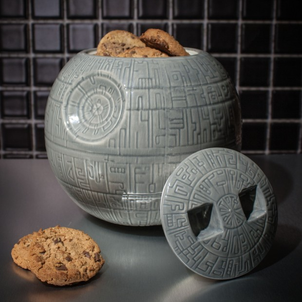 Death Star Cookie Jar - Photo from Firebox.com